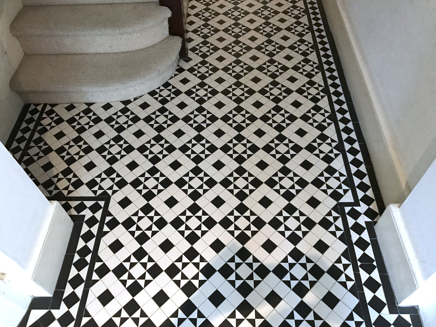 Victorian And Edwardian Floor Tile Restoration And Installation London